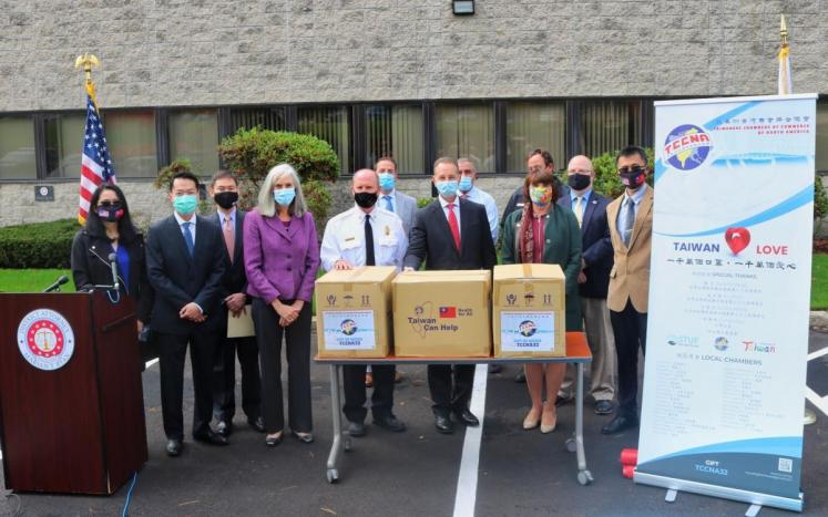 Middlesex District Attorney's Office Announce the Donation of Personal Protective Equipment to Middlesex First Responders