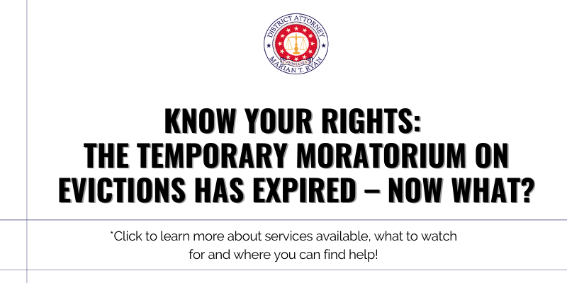 The temporary moratorium on evictions has expired – now what?